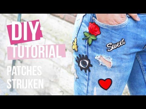 How to: Patches strijken ♡ DIY