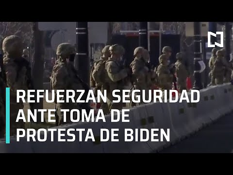 Estados Unidos refuerza vigilancia ante toma de protesta de Joe Biden - Las Noticias