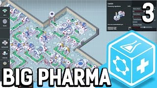 Big Pharma #3 gute Marge böse Kredite Der Pillen Fabrik Simulator BETA Gameplay