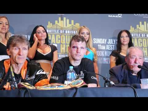 Jeff HORN Post FIGHT Media Conference vs Manny PACQUIAO