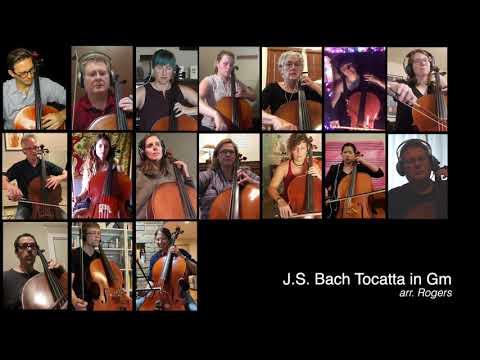 COVID CELLO PROJECT - Adagio from Bach Tocatta in Gm (in Am)