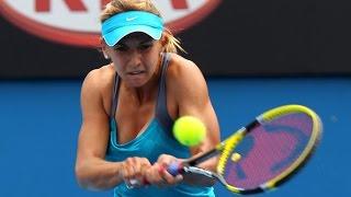 Urszula Radwanska vs Lesia Tsurenko Highlights