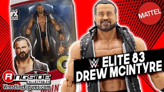 WWE FIGURE INSIDER Drew Mcintyre Mattel WWE Elite 83