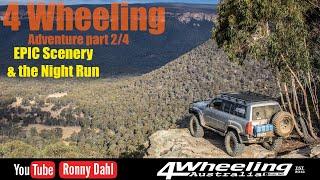 4 Wheeling Adventure, Epic Scenery & Night Wheeling part 2/4