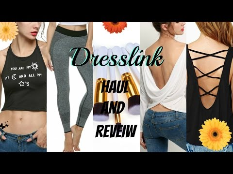 HUGE DRESSLINK HAUL & TRY-ON| Cheap Clothes