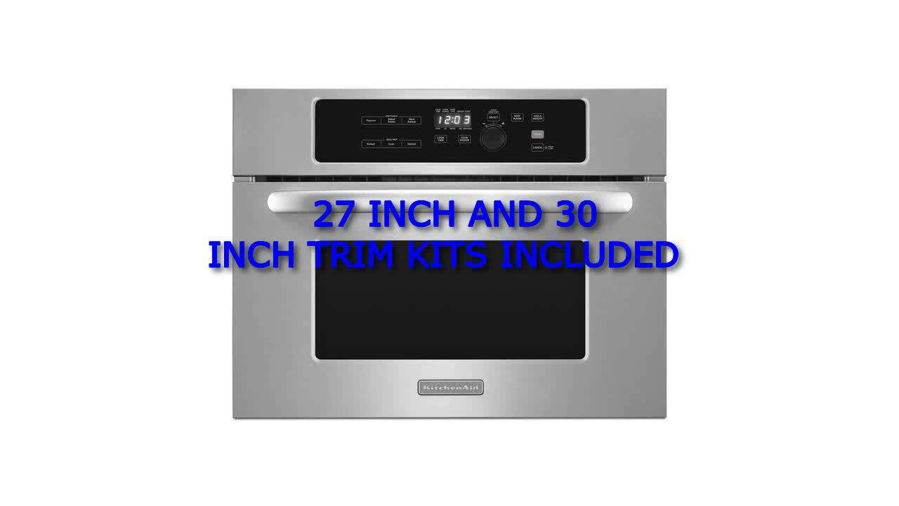 kitchenaid builtin microwave ovens kitchenaid architect series ii kbms1454bss