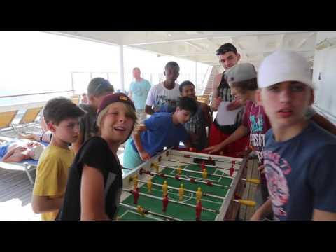 Caraïbes Costa magica croisière Concours sportifs / Caribbean Costa cruise Sport