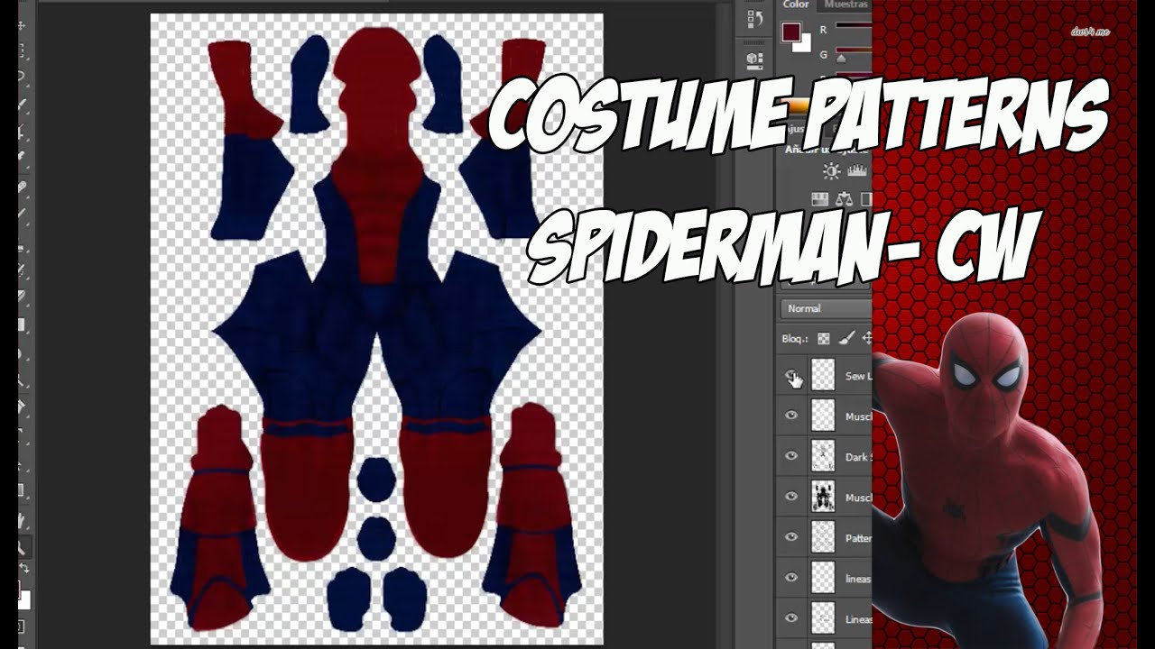 Spiderman cw costume patterns coming soon youtube spiderman cw costume patterns coming soon jeuxipadfo Images