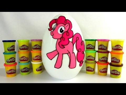 Май литл пони  Открываем яйцо ПЛЕЙ ДО с сюрпризами My little Pony