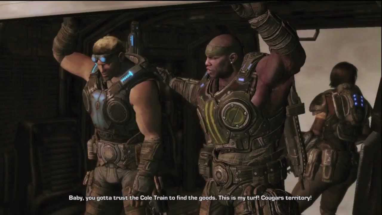 The Best Quotes Of Cole Train In Gears Of War 3 Whooo Itend2gobeastmode
