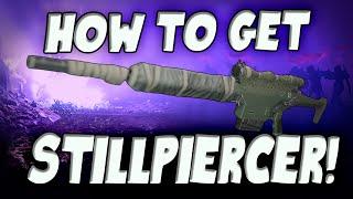 How to get legendary Stillpiercer!!! (Destiny Taken King PS4)