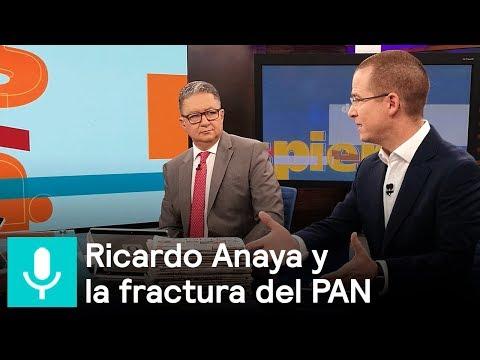 Ricardo Anaya habla sobre la fractura en el interior del PAN - Despierta con Loret