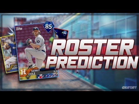 """THE DIAMOND WE HAVE BEEN WAITING FOR! """"MLB 18 ROSTER PREDICTIONS"""""""
