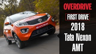 2018 Tata Nexon AMT   First Drive Review   OVERDRIVE