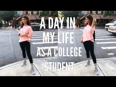 A DAY IN MY LIFE AS AN NYC COLLEGE STUDENT | JUNIOR YEAR
