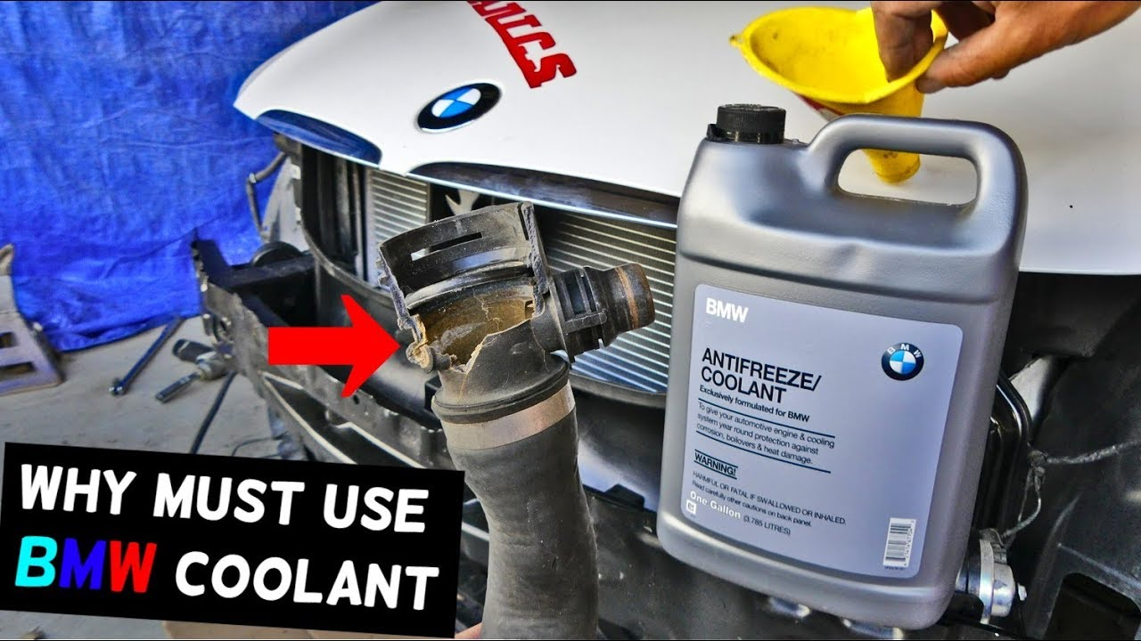 Why You Must Use Bmw Coolant In Your Bmw Youtube