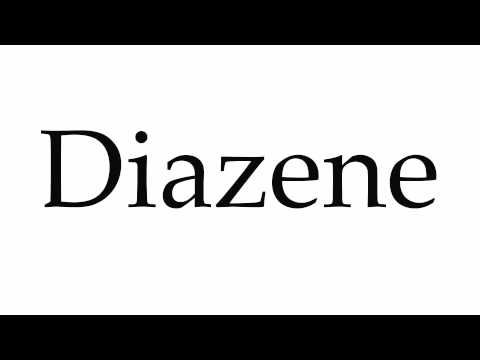 How To Pronounce Diazene