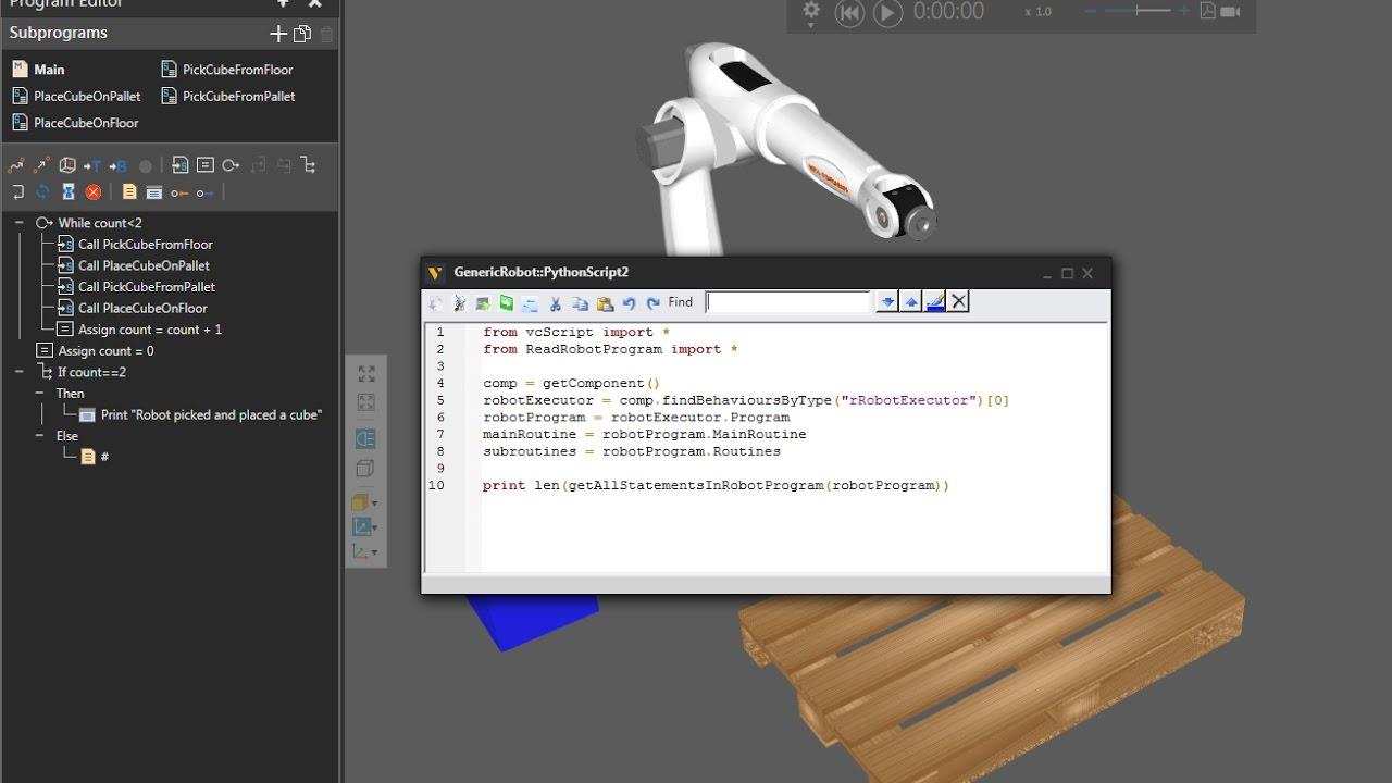 Python Robotics - 1 - Read a Robot Program