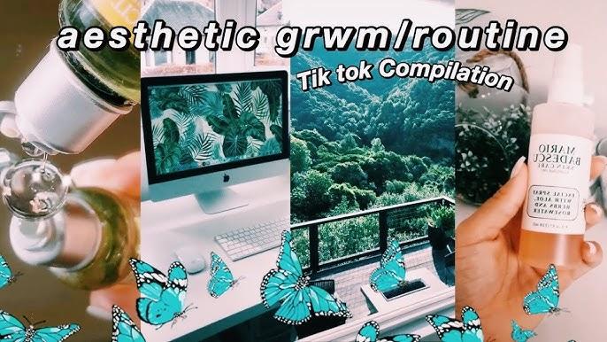 Aesthetic Routine Grwm Tik Tok Compilation Relaxing Youtube