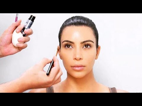 [FULL VIDEO] Kim Kardashian | The Perfect Strobing and Highlighting Tutorial By Mario Dedivanovic