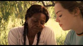 the help - scene with Skeeter