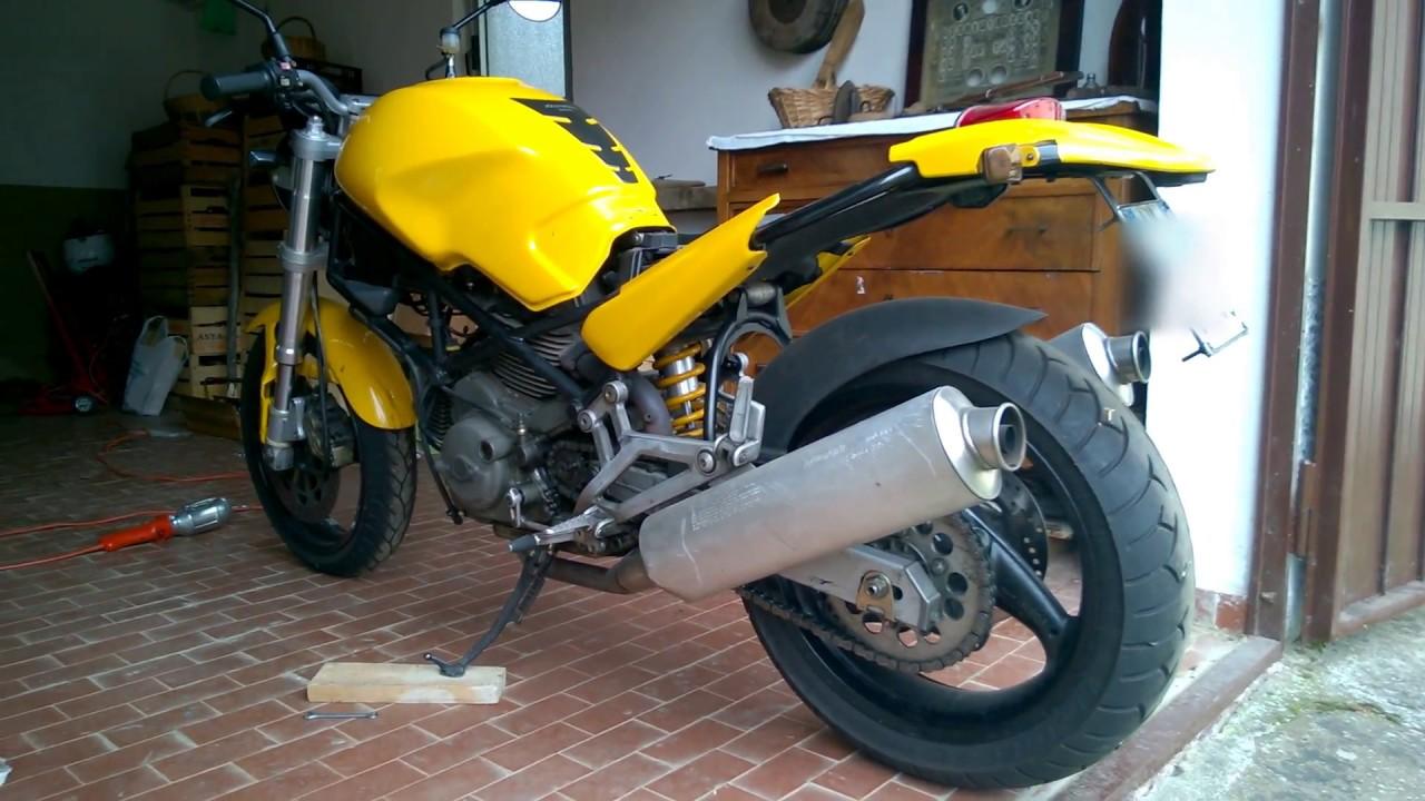 Ducati Monster 600 Accensione Dopo Pulizia Dei Carburatori Youtube