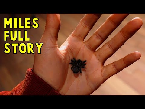 How Miles Morales Becomes Spider-Man FULL STORY - Marvel's Spider-Man (Insomniac VideoGame) PS4 HD