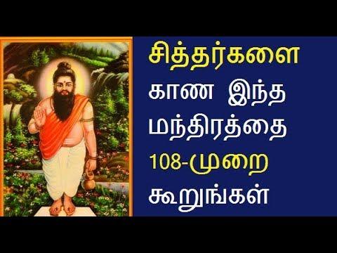 How to see siddhar | Siddhar manthiram tamil | Siddhar ragasiyam | siddhar  padalkal