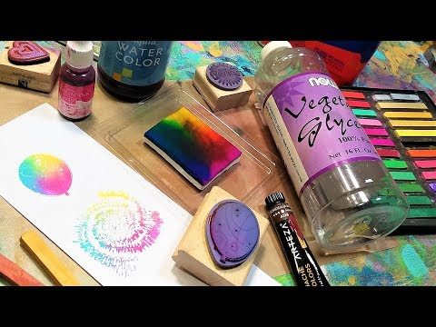 Make Ink At Home! Ink Pad Recipe Bonanza!