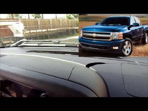 2013 Silverado Dash Cap Installation Texas Edition Before & After