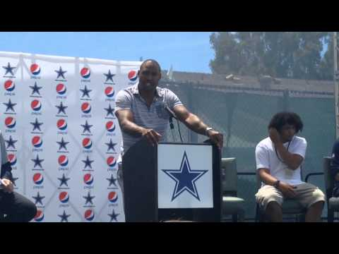 The Cowboys Add Darren Woodson To The Ring Of Honor