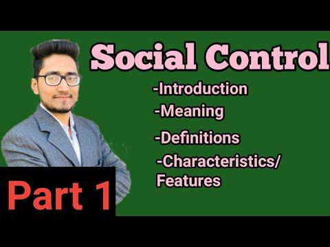 social control part-1,