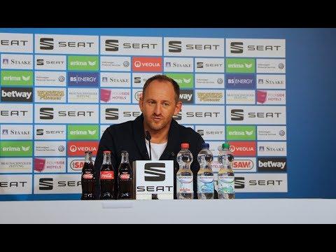 Pressekonferenz vor dem Spiel beim 1. FC Kaiserslautern