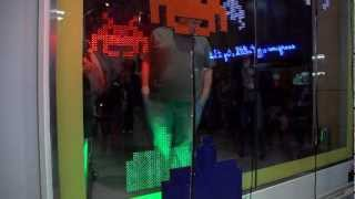 Interactive Shopping Window - Space Invaders