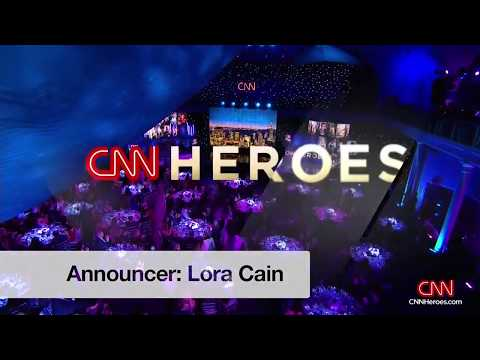 CNN Heroes 2017 - Announcer Lora Cain - Celebrities Honoring Heroes
