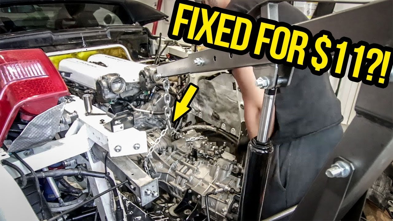 I Fixed My Cheap Lamborghini With Home Depot Parts Youtube