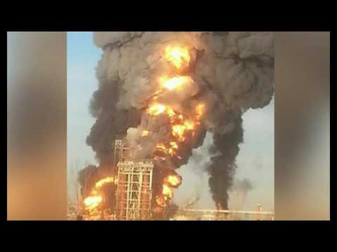 Emergency Plan Activated After Huge Explosion Rocks Italian Oil Refinery