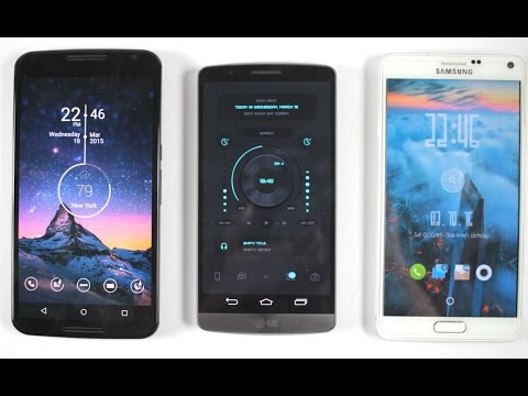 Top 10 Best Android Themes 2015 (Customize your Android #2)