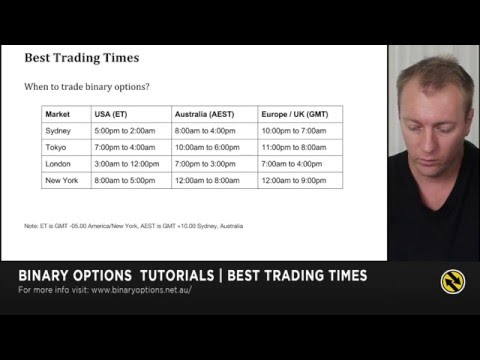 Best Forex Trading Times (EU, UK, USA & AU) - Tutorial #5