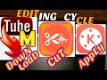How to use mp3 cutter | Kinemaster  | Tubemate downloader | Cutting sound effect