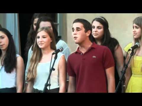 Theater Geeks of America sing
