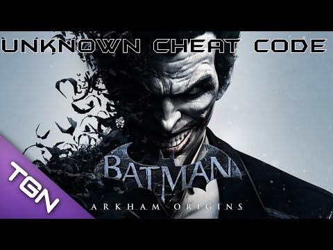 Batman: Arkham Origins - ??? Cheat Code