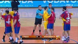 Serbia vs Macedonia Handball 29:32 (13:14) HIGHLIGHTS ALL Match | Friendly match 05/01/2018