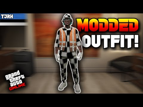 *NEW* How To Get a Full Checkerboard Trash Vest Modded Outfit W/ Checkered Hat (GTA 5 Online)