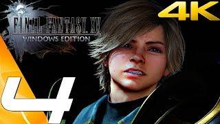 FINAL FANTASY XV (PC) - Gameplay Walkthrough Part 4 - Loqi Boss Fight & Deadeye Behemoth [4K 60FPS]