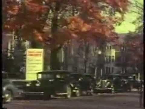 1930s campus tour, University of Michigan