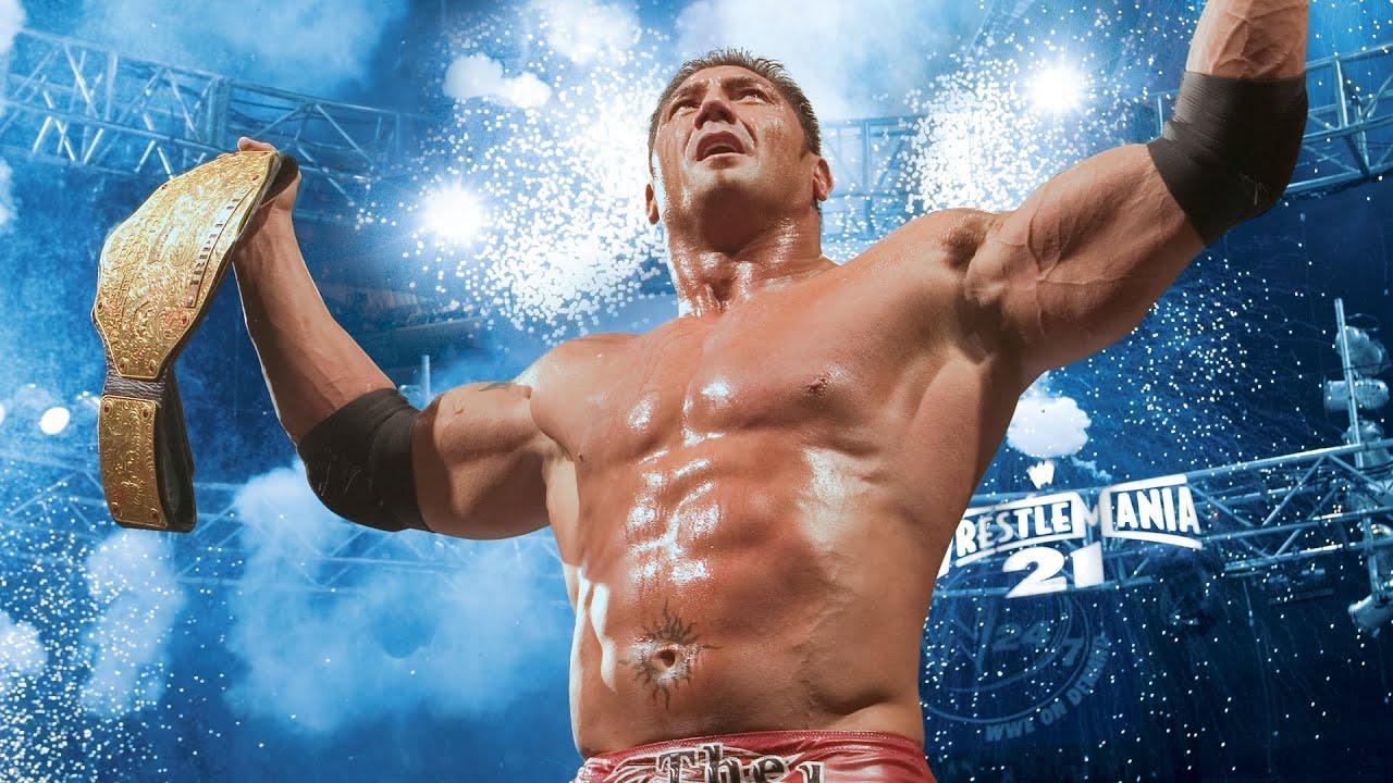 Batista's six World Championship victories: WWE Milestones