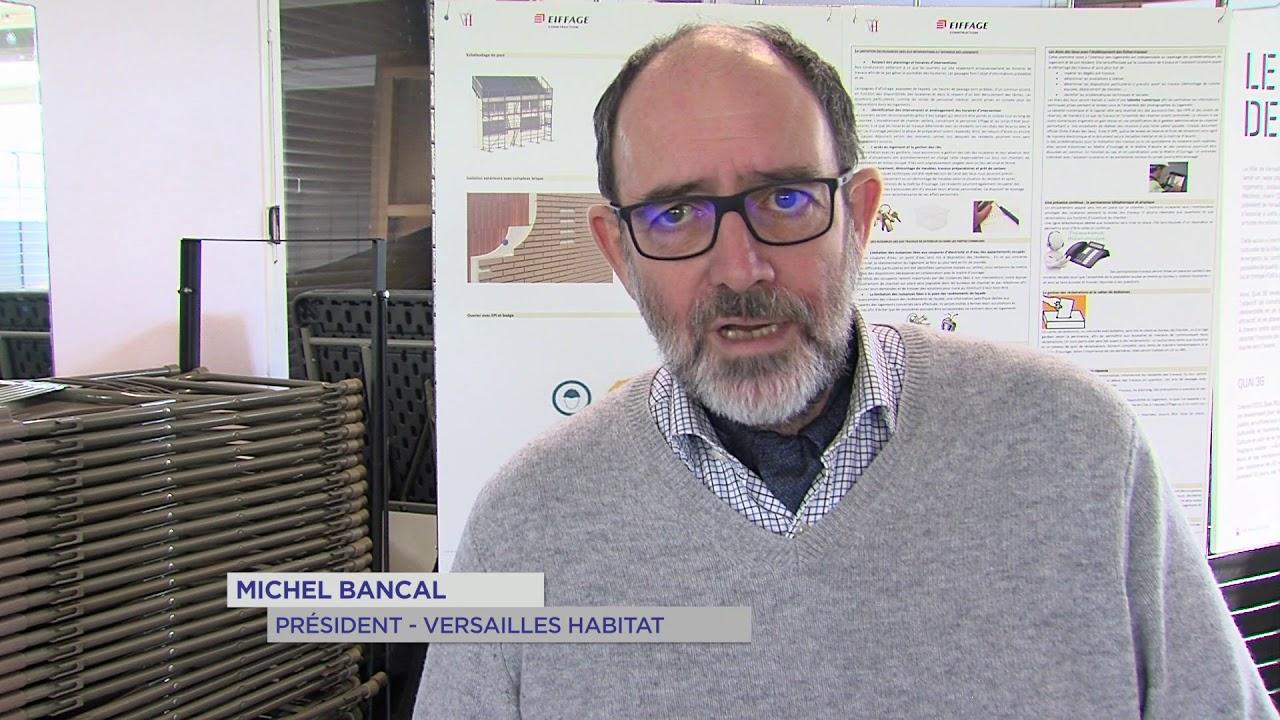 Versailles : Une réhabilitation et des fresques pour 1 096 logements