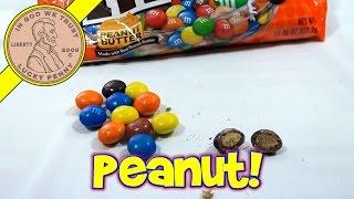 M&m's Peanut Butter Candies - Mars M&m's Candy Taste Test Series
