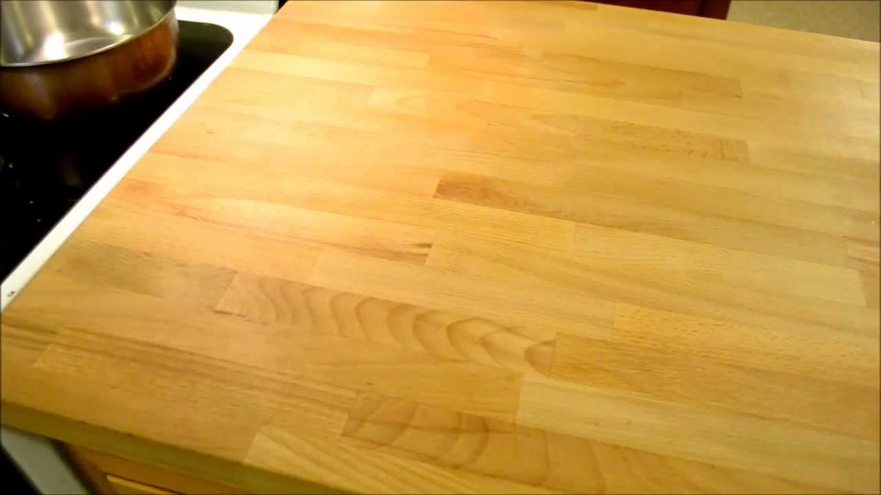 Ikea Wood Countertop Review 1 Year Follow Up Review Ikea Numerar Butcher Block Kitchen